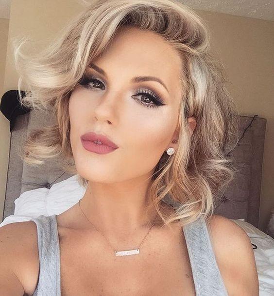 Важные советы макияжа для блондинок