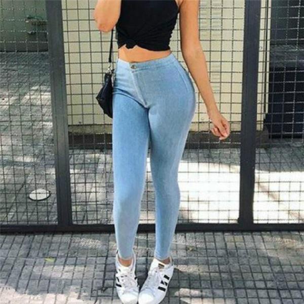 Высокая посадка штанов