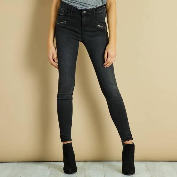 Зауженные джинсы для девушки