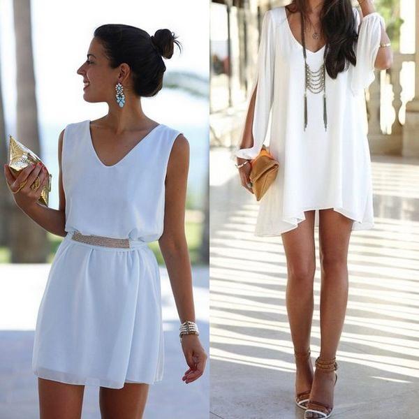 Белый цвет в моде