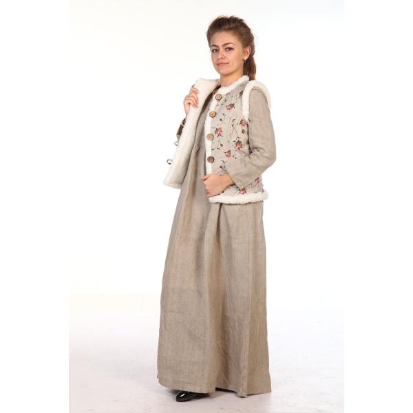 Льняная современная одежда