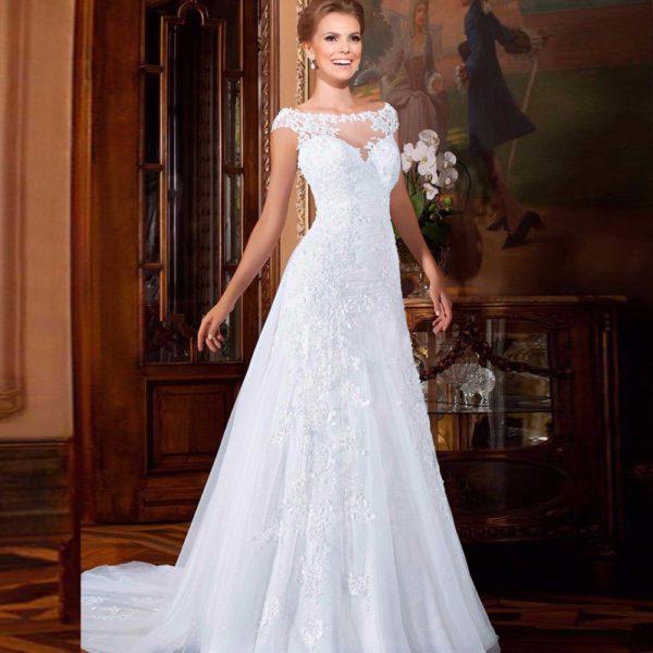 Платья в пол для свадьбы летом предлагают модные дизайнеры