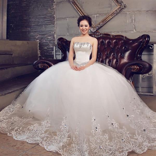 Свадебное платье пышное шикарное