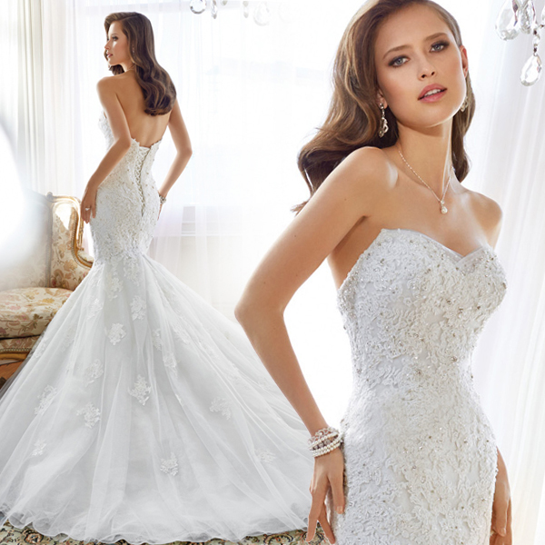 Фасон платья для свадьбы Scarlet