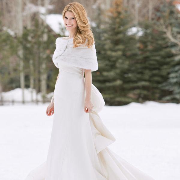 Именно зимние свадьбы дают девушкам почти неограниченные возможности в выборе свадебных платьев
