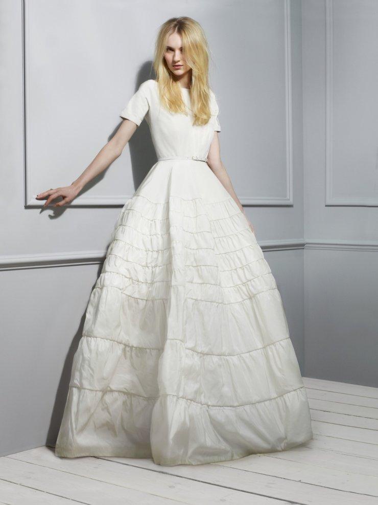 Как выглядит платье для свадьбы рубашка