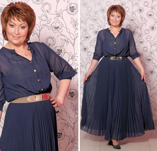 ef9b411ff83 Платье из шифона для женщины 50 лет