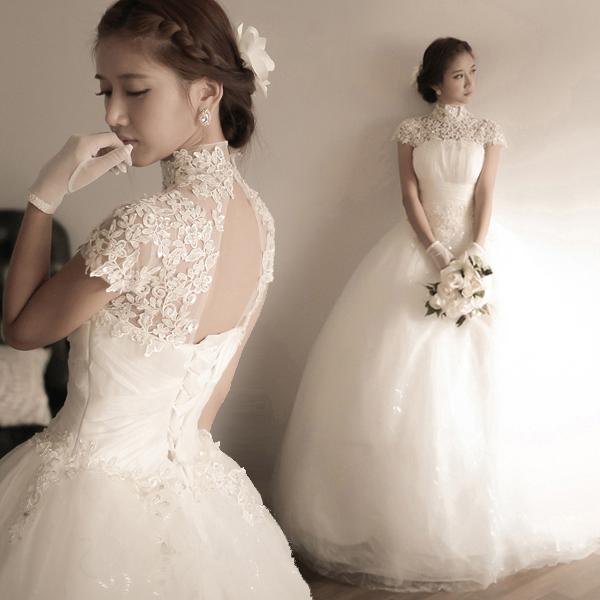 Свадебное платье с бриллиантами