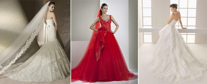 Свадебные наряды в испанском стиле