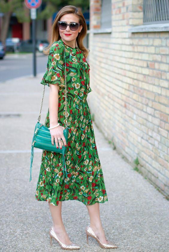 Свободный крой платья