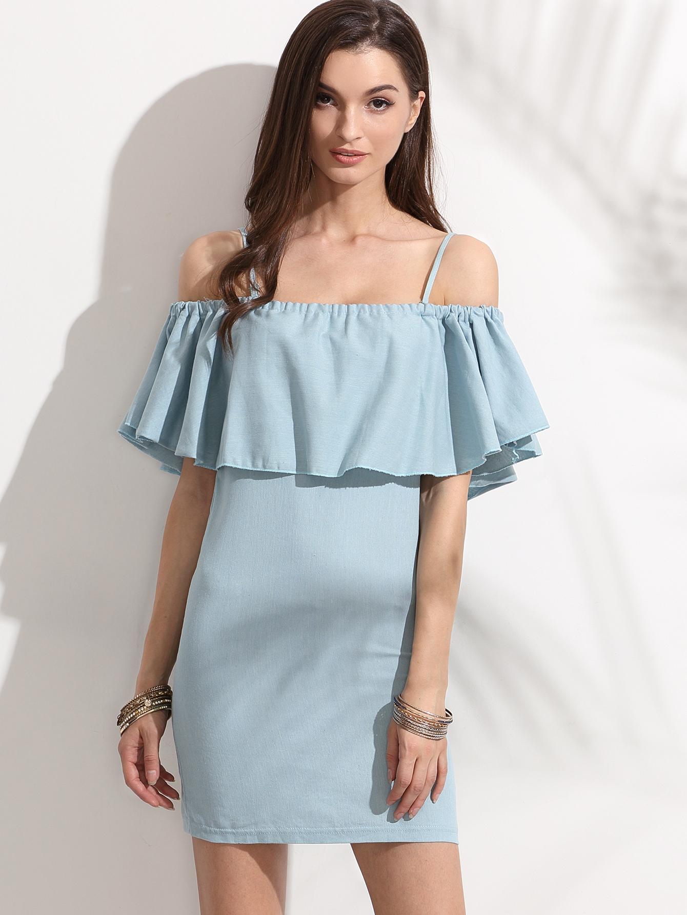 платья с воланом на плечах фото выкройки кто