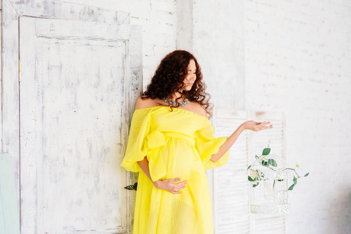 Подбираем повседневное платье для беременных правильно