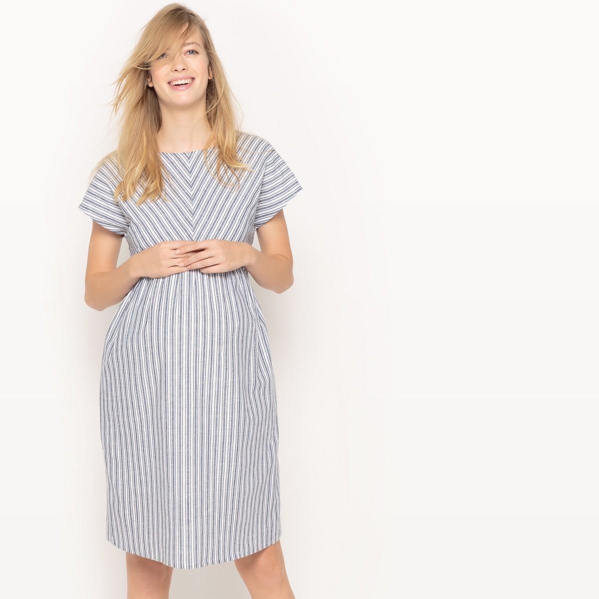 Платье со льна для беременнвх