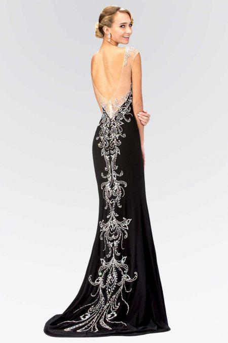 3d556704259 Платье с открытой спиной