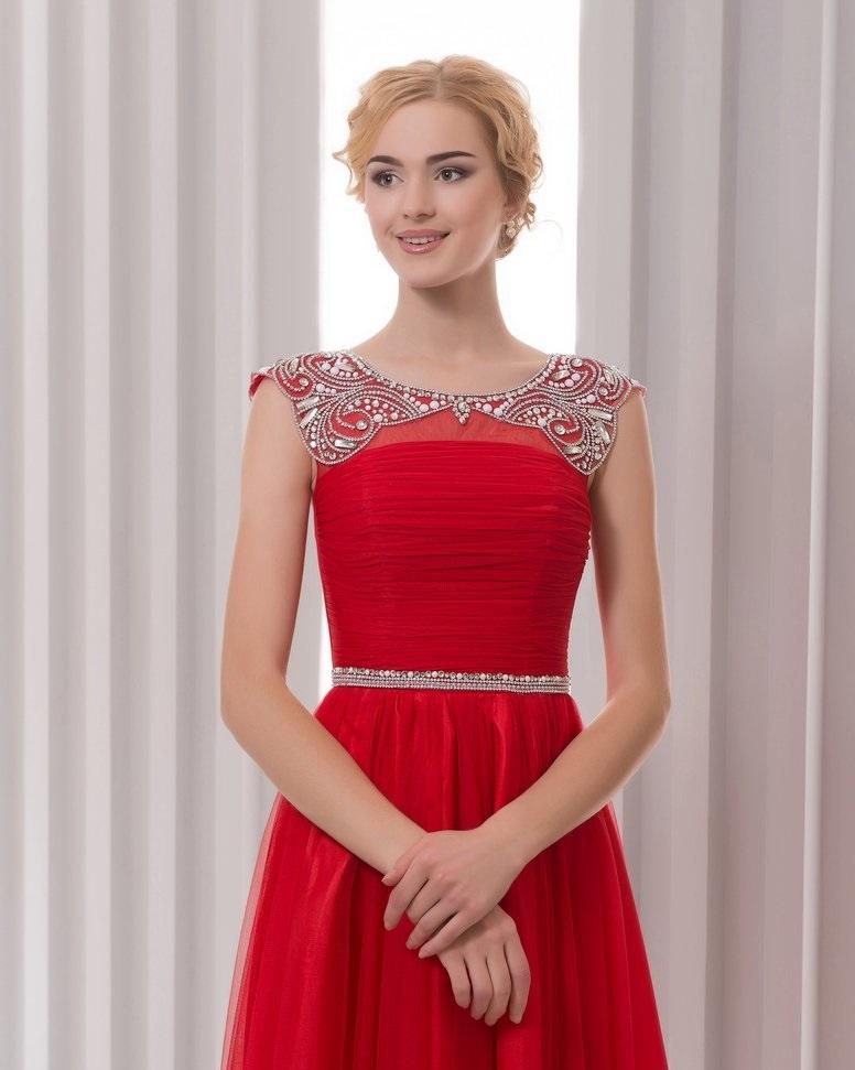 МАкияж под красное платье15
