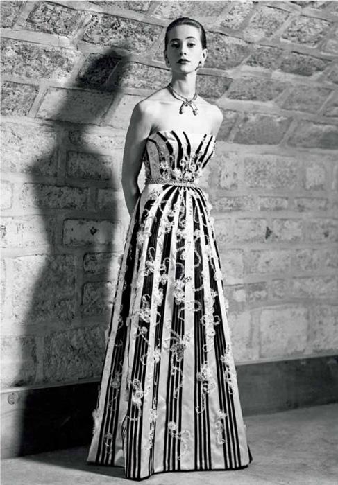 Plate-Kristobal-Balensiaga Модный тренд весна-лето 2019-2020: платья с открытыми плечами и блузы с открытыми плечами