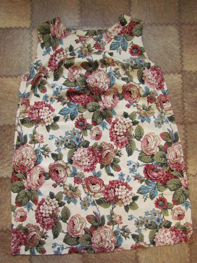 Платье, которое нужно удлинить