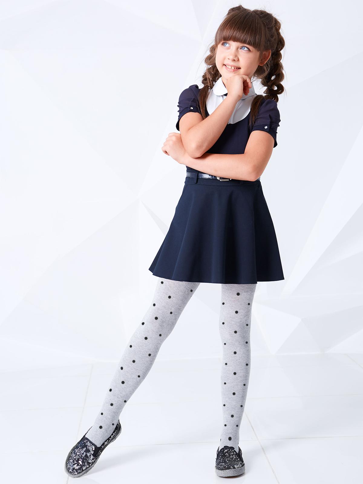 детское платье с колготками