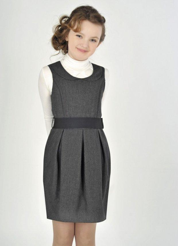 фасоны школьного платья