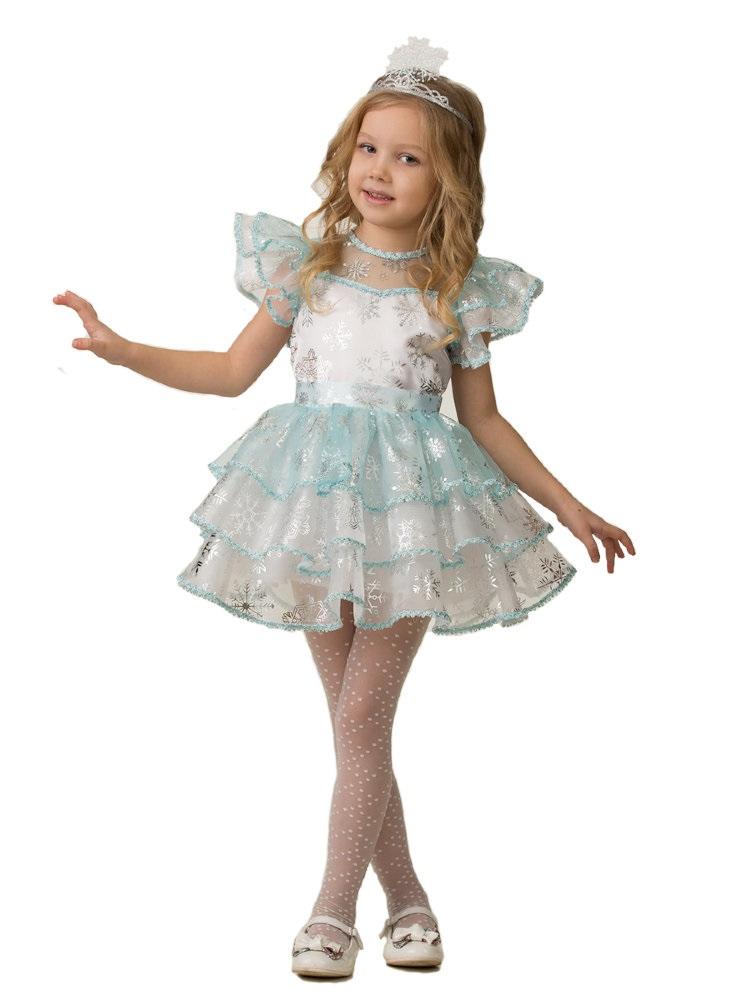 костюм снежинки для девочек