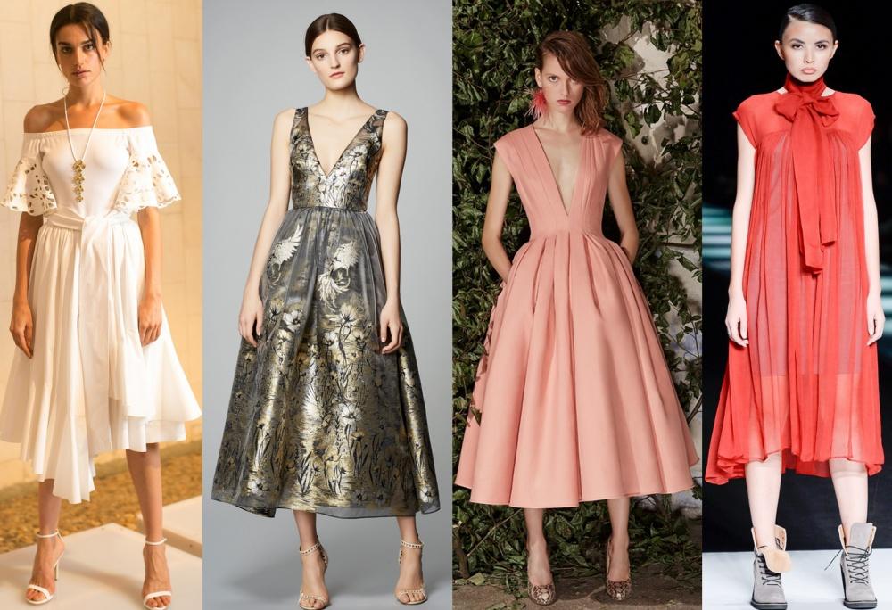 7c032318daa Платье – неотъемлемый атрибут женского гардероба. Его фасон можно подобрать  для любой фигуры и разного возраста. Сегодня очень популярно платье миди