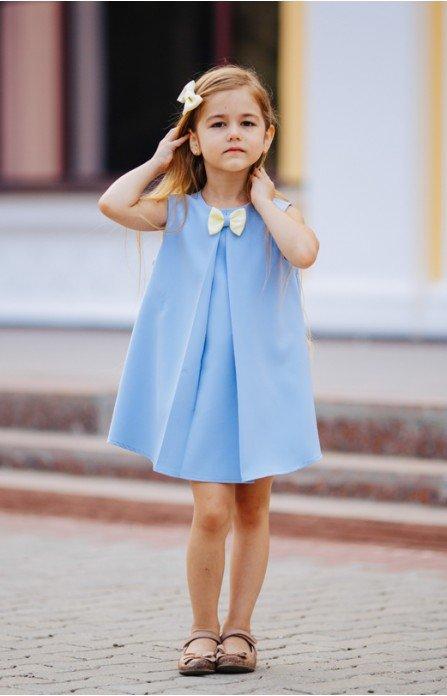 платье трапеция для девочки