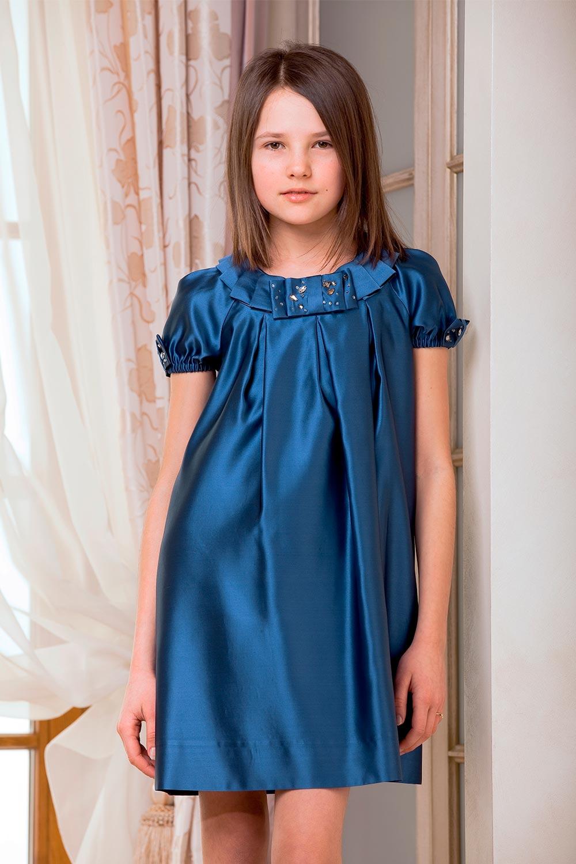 шелковое платье для девочек