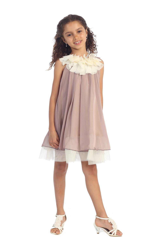 шифоновое платье для девочек