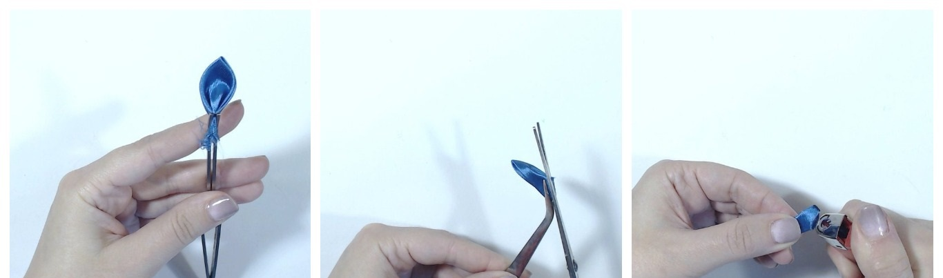 Канзаши: Учимся делать простые лепестки