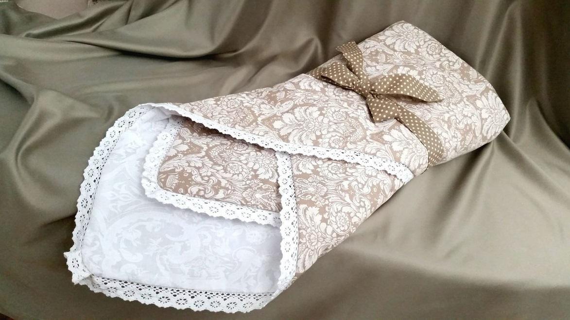 Как сшить одеяло на выписку