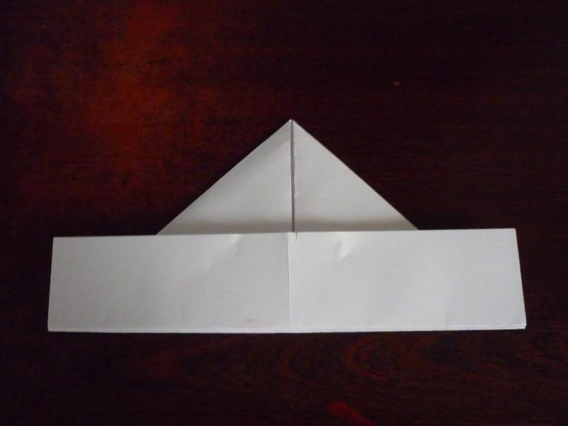 Как сделать пилотку стюардессы из бумаги