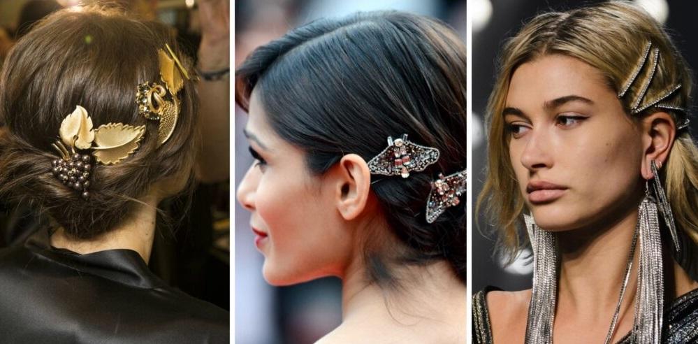 e517a8a2f53 Одной из главных его составляющих является прическа, поэтому модные заколки  для волос 2020 года могут стать завершающим штрихом как повседневного, ...