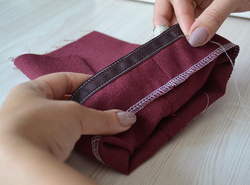 Как сузить брюки в домашних условиях