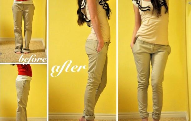 Как ушить брюки в домашних условиях, популярные способы