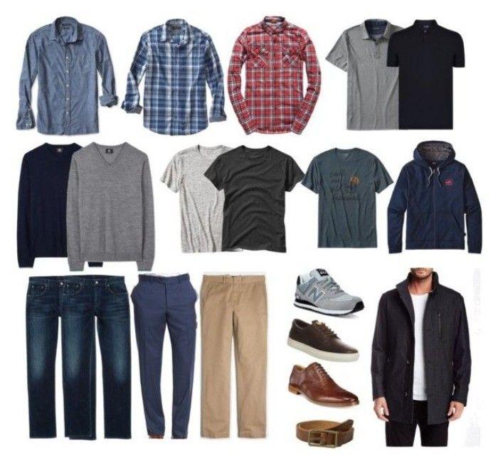 мужской гардероб из чего должен состоять фото крупнейших